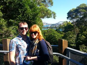 Overlooking Sydney from Taronga Zoo