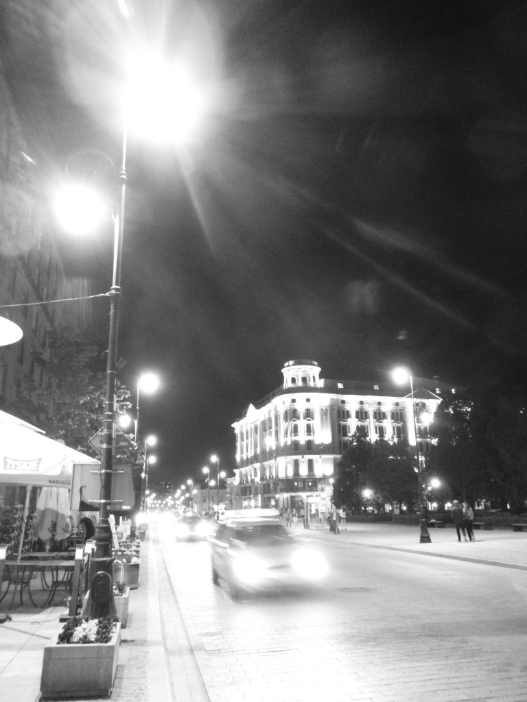 Night in Warsaw