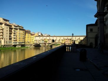 Ponte Veechio in the morning light