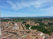 The view of Siena