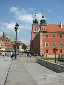 Central Warsaw overlooking the Polonia Palace