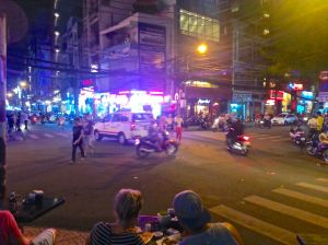 Streets of Ho Chi Minh City