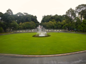 Reunification Palace Fountain