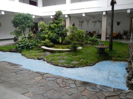 Second Floor internal Garden