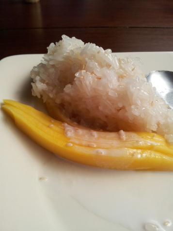 Mango and Sticky Rice a la Ginga musings