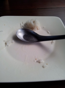 All gone, and it was delicious!