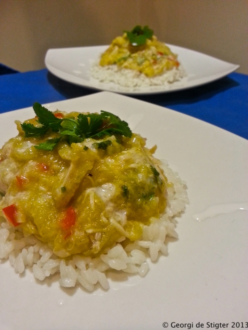 Tropical Fruit curry