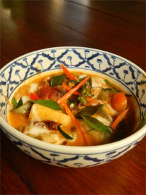 Thai Inspired Red Curry