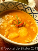 Yellow Curry - Thai Style