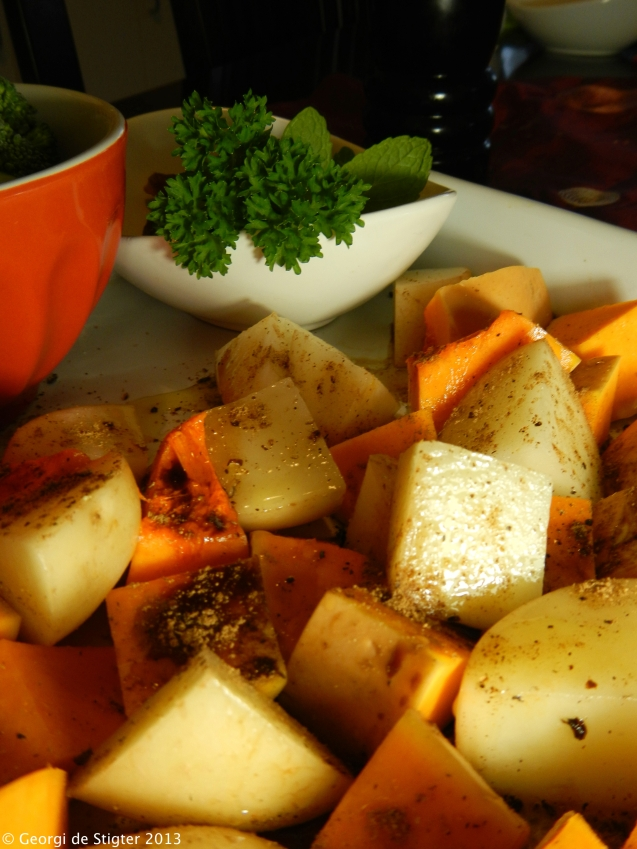 Delicious Potatoes and Butternut Squash