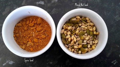 Spice and Nut bowls