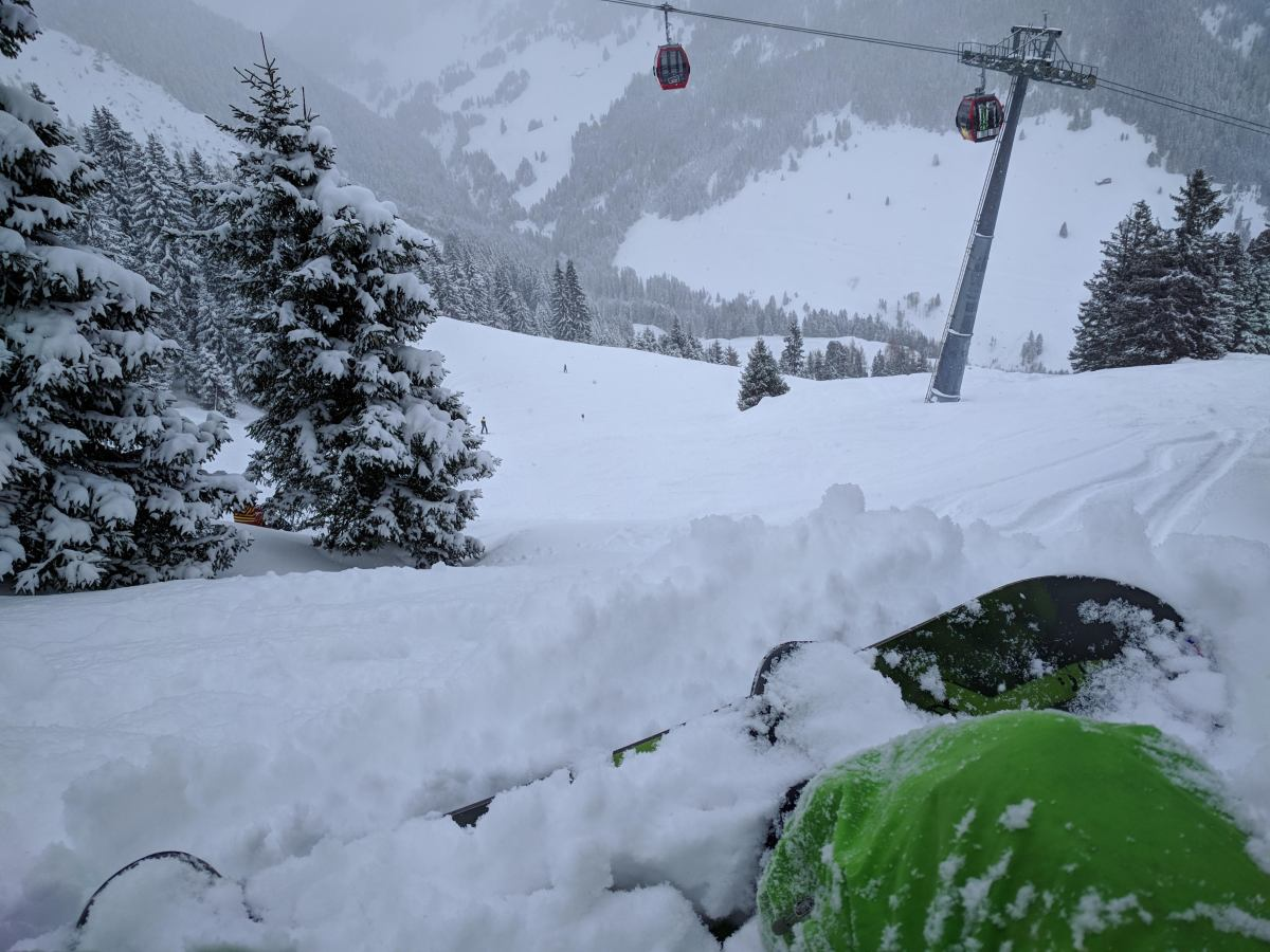 Snowed in, in Krimml, Austria