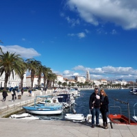Settling into Spectacular Split