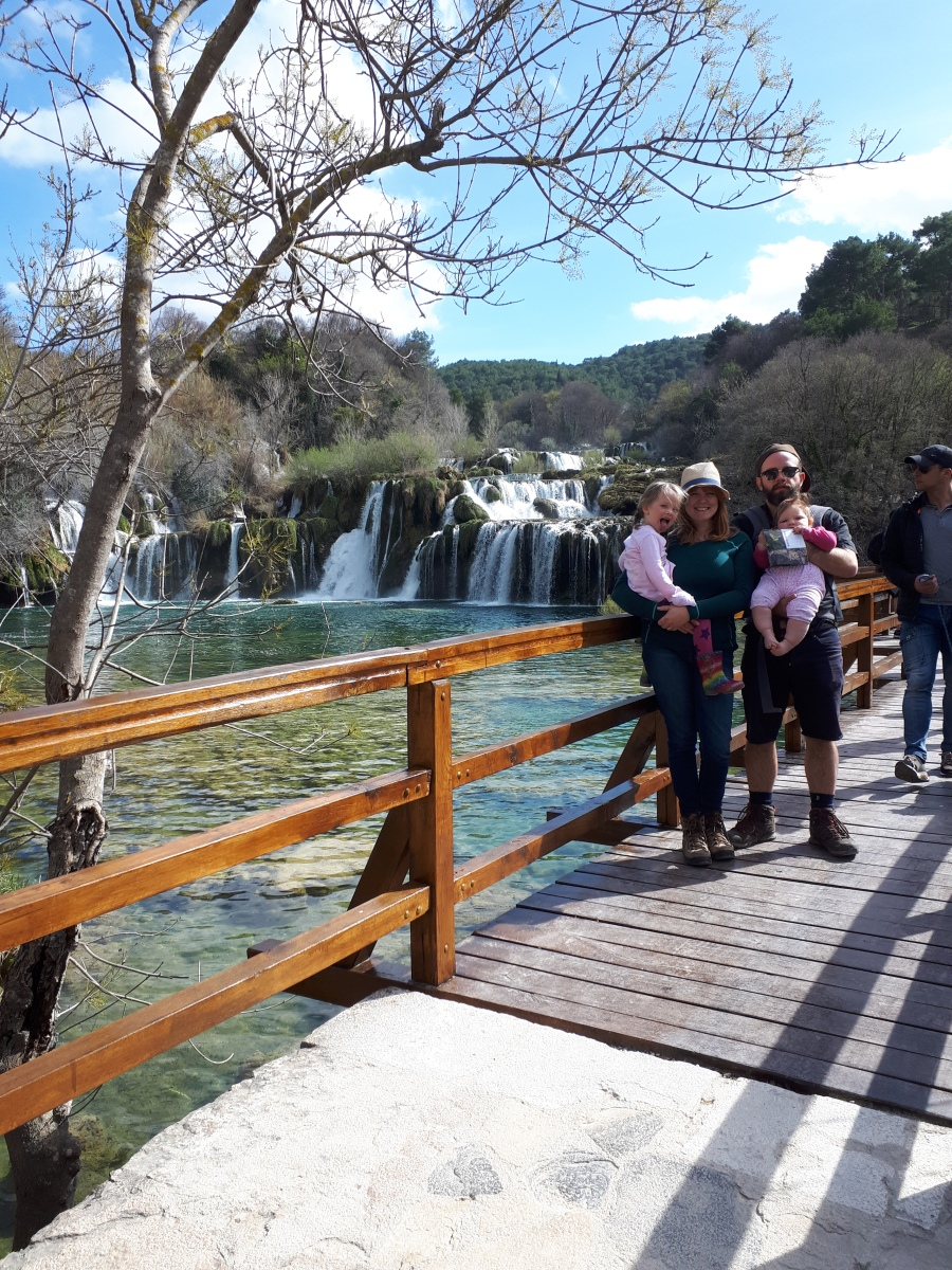 Waterfalls, water views and walking in Split